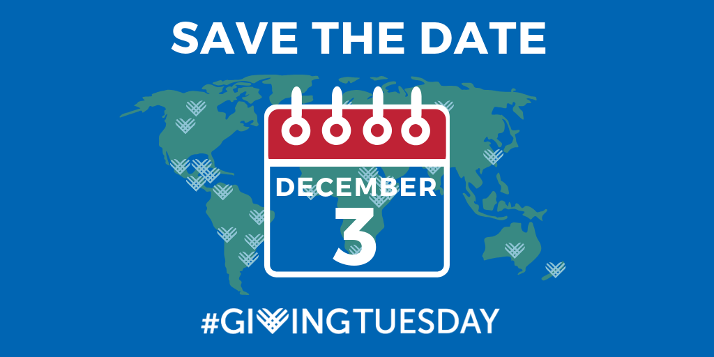Giving Tuesday Image Save the Date Twitter 2019