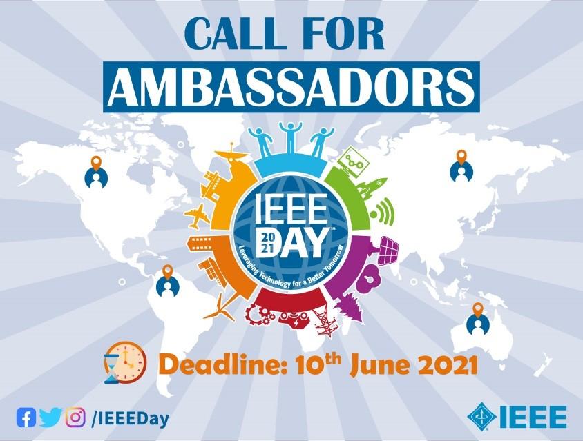 Become an IEEE Day 2021 Ambassador