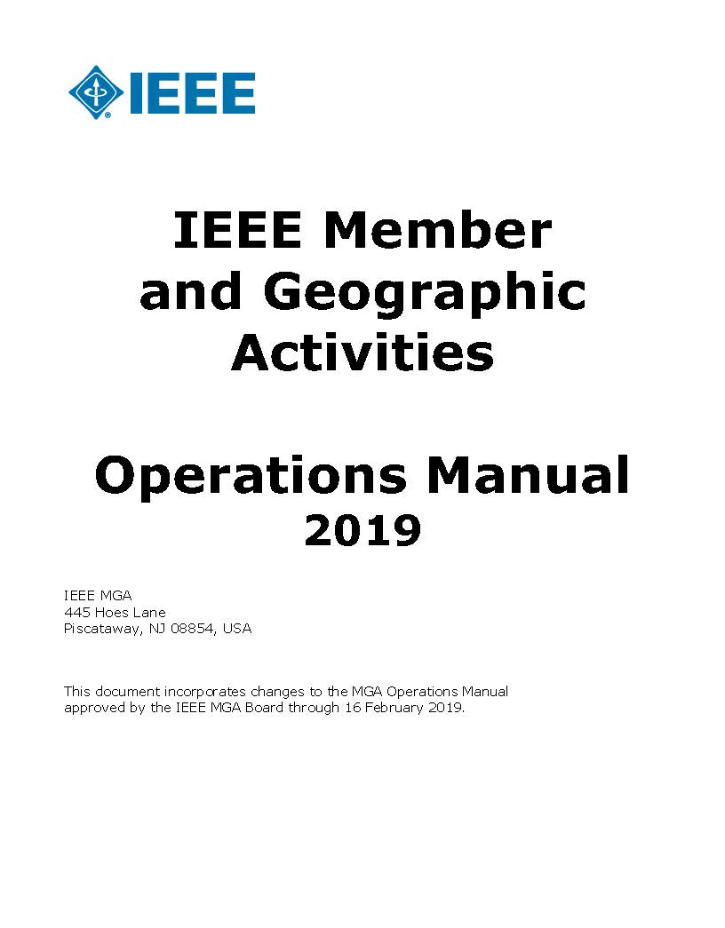 mga operations manual cover