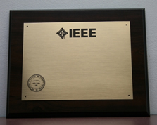 IEEE Large Wall Plaque