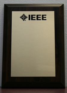 IEEE Small Wall Plaque