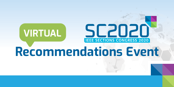 SC2020 Virtual Recommendations Event