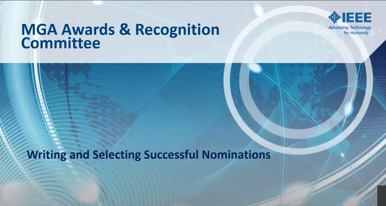 writing and selecting successful nominations